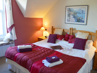 Super King Size Double with Sea views at Viewbank House, Isle of Arran – Whiting Bay