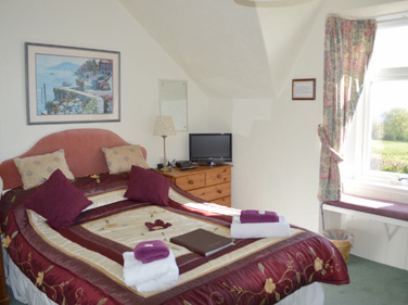 Bedroom at Viewbank House, Isle of Arran – Whiting Bay