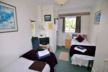 Twin Room at Viewbank House, Isle of Arran – Whiting Bay